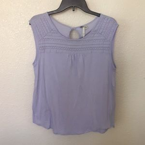 Lavender Knit Top